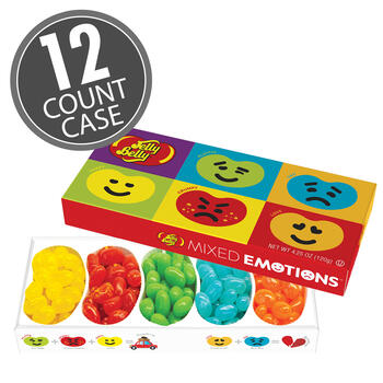 Jelly Belly Mixed Emotions® 4.25 oz Gift Box 12-Count Case