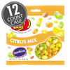 Sunkist® Citrus Mix Jelly Beans 3.1 oz Grab & Go® Bag - 12 Count Case