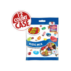 Kids Mix Jelly Beans - 7 oz Bags - 12-Count Case