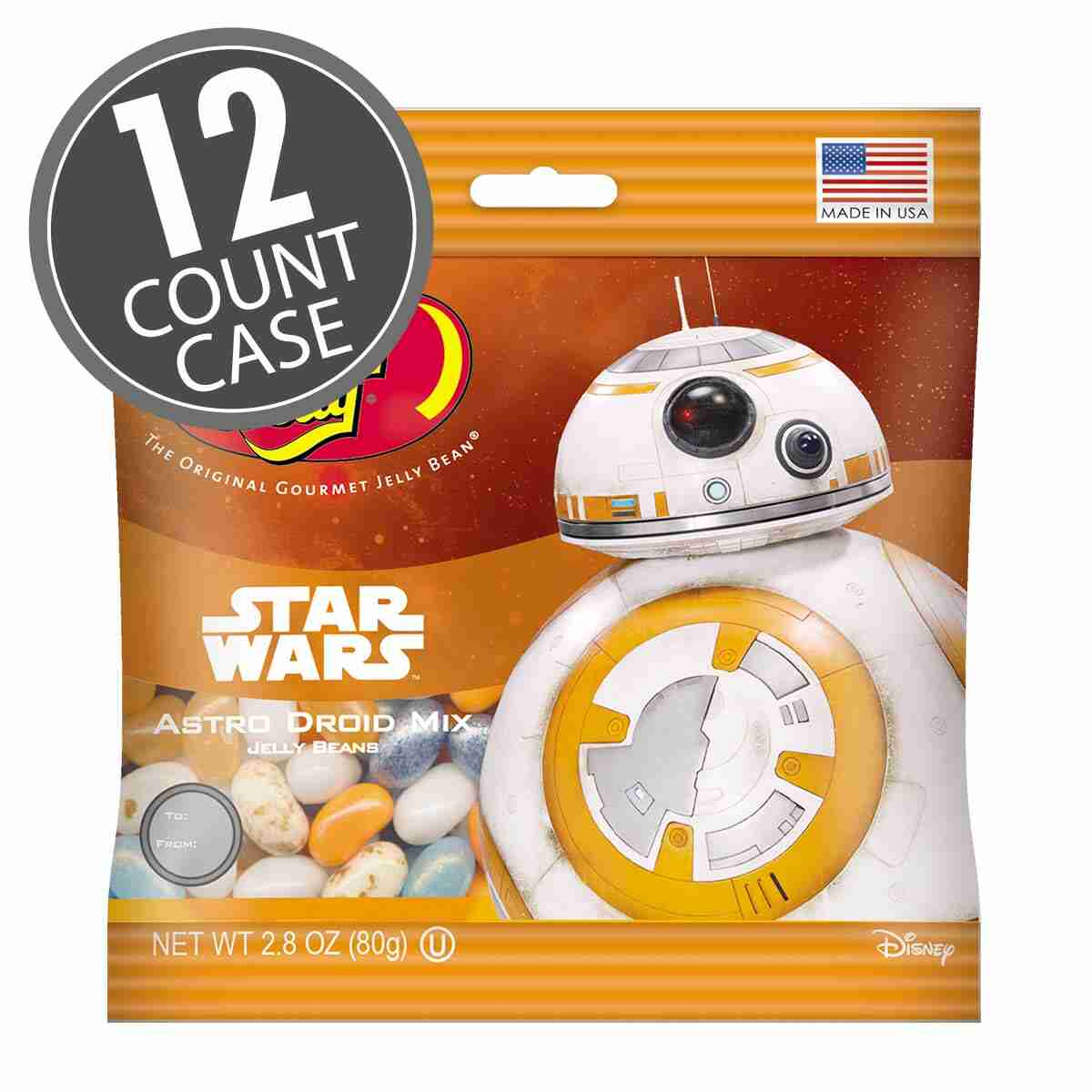 STAR WARS™ BB-8 Jelly Beans 2.8 oz Bag - 12-Count Case