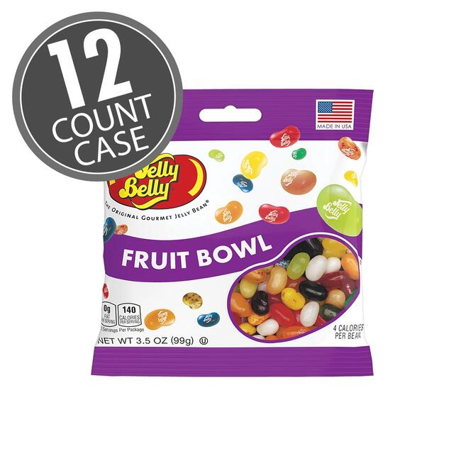 Fabulous Fruit Bowl Jelly Beans 3 5 Oz Bag 12 Count Case Pabps2019 Chair Design Images Pabps2019Com
