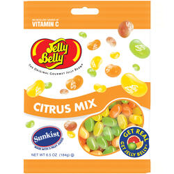 Sunkist® Citrus Mix Jelly Beans - 6.5 oz Bag