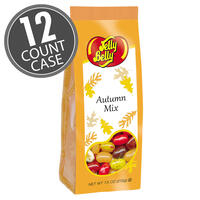 Jelly Belly Autumn Mix Gift Bags - 7.5 oz Bags - 12-Count Case