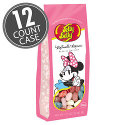 Minnie Mouse Jelly Beans - 7.5 oz Gift Bag - 12 Count Case