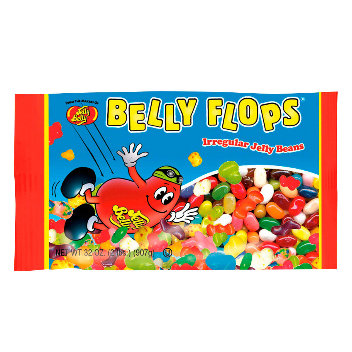 Belly Flops Jelly Beans 2 Lb Bag