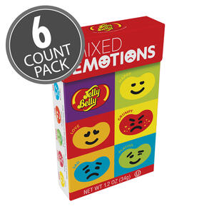 Jelly Belly Mixed Emotions™ 1.2 Flip Top Box 6-Count Pack