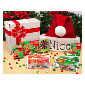 beanboozled naughty or nice christmas gift box - Decorative Christmas Gift Boxes With Lids