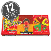 BeanBoozled Fiery Five 3.5 oz Spinner Gift Box - 12-Count Case