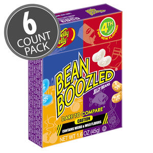 BeanBoozled Jelly Beans - 1.6 oz box (4th edition) - 6 Pack