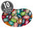 Jewel Collection Assorted Jelly Beans Mix - 10 lb Bulk Case-thumbnail-1