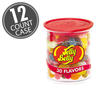 30 Assorted Jelly Bean Flavors - 7 oz Clear Can - 12-Count Case