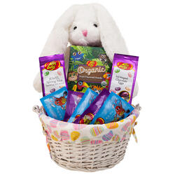 Plush Bunny Easter Basket