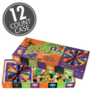 BeanBoozled Trick or Treat 3.5 oz Spinner Gift Box (4th edition), 12-Count Case