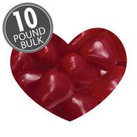 Cinnamon Lovers™ Hearts - 10 lbs Bulk