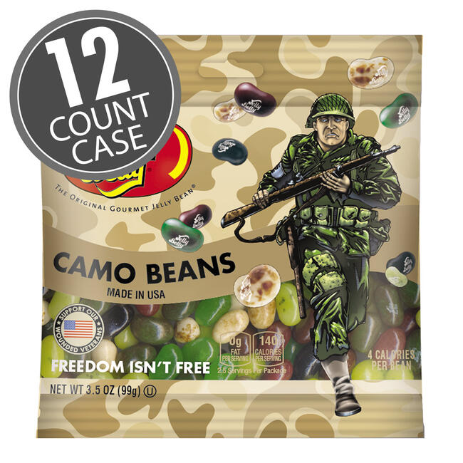 Freedom Fighters Jelly Beans 3.5 oz Grab & Go® Bag - 12 Count Case
