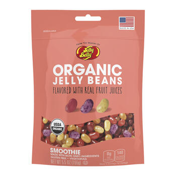 Organic Smoothie Jelly Beans from the makers of Jelly Belly - 5.5 oz bag