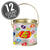 Jelly Belly Logo Clear Pail (Empty) - 12 Pails-thumbnail-1