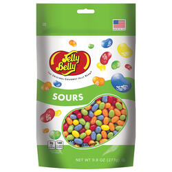 Sours Jelly Beans - 9.8 oz Pouch Bag