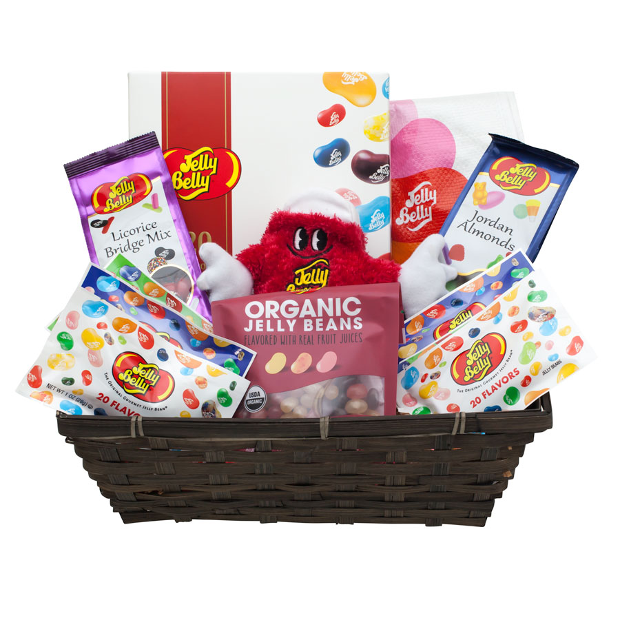 Jelly belly easter gift baskets jelly belly candy company jelly belly favorites gift basket product image negle Image collections