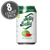 Jelly Belly Watermelon Sparkling Water - 8 Pack