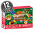 Organic Fruit Flavored Snacks - Rainforest Animals Strawberry Apple - 12 Count Case-thumbnail-1