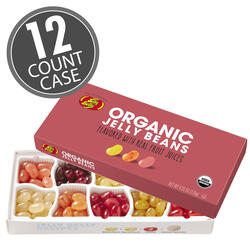 Organic Jelly Beans from the makers of Jelly Belly - 4.25 oz Gift Box 12-Count Case