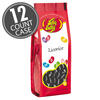 Licorice Jelly Beans 7.5 oz Gift Bags - 12 Count Case