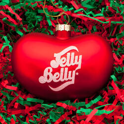 Jelly Belly Bean Ornament - Red