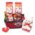 Valentine's Day Sweet Treats Gift Basket with Teddy Bear-thumbnail-1