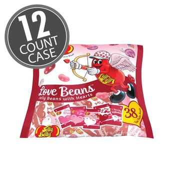 Jelly Belly LOVE Beans Fun Pack - 12 Count Case