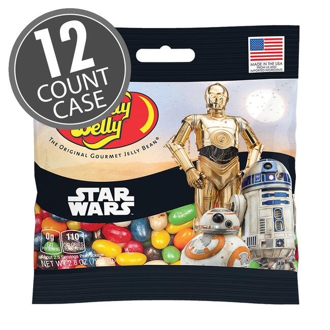 STAR WARS™ Jelly Beans 2.8 oz Grab & Go® Bag - 12 Count Case