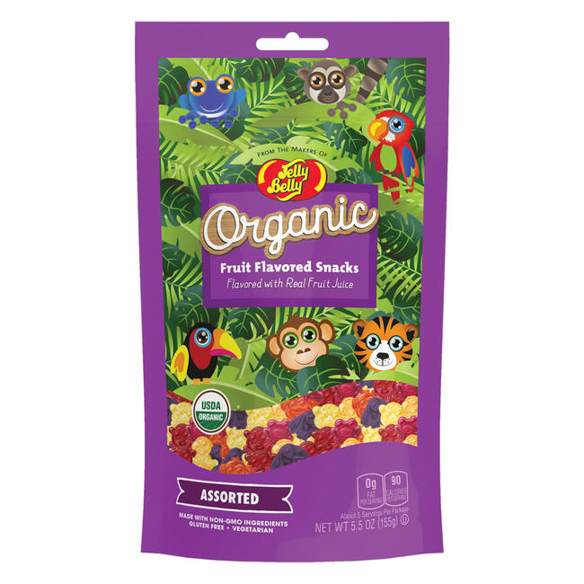 Organic Fruit Flavored Snacks 5.5 oz Bag