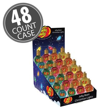 Jelly Bean Filled Christmas Lights - 1.5 oz - 48 Count Case