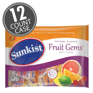 Sunkist® Wrapped Fruit Gems® 9 oz Laydown Bags 12-Count Case