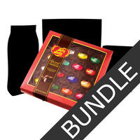 Gourmet Chocolates & Rosé Jelly Beans - Sweet & Spicy Bundle (5 Items)