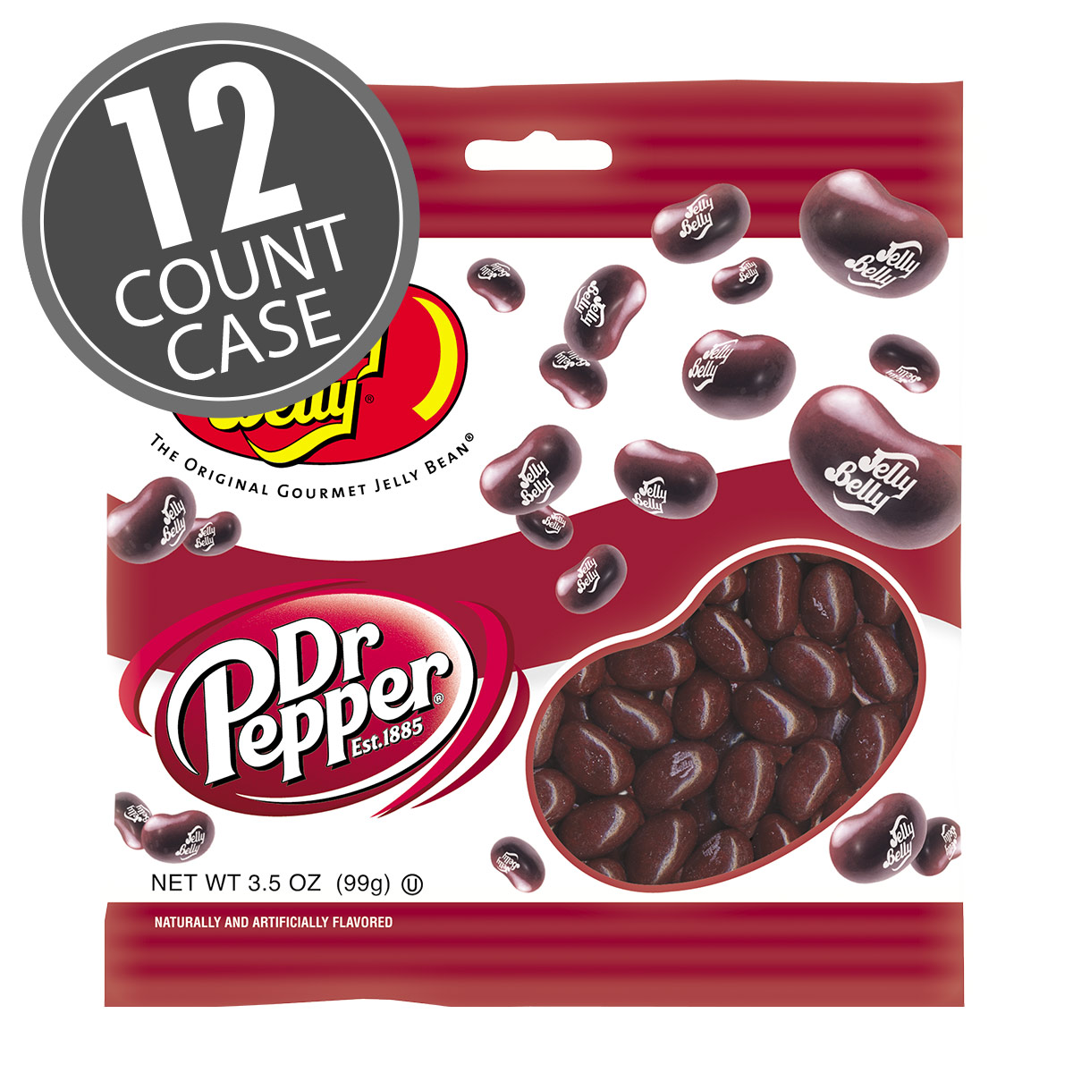 Dr Pepper® Jelly Beans - 3.5 oz Bag - 12 Count Case