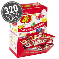 20 Assorted Jelly Bean Flavors - 0.35 oz. bag - 320 Count Case