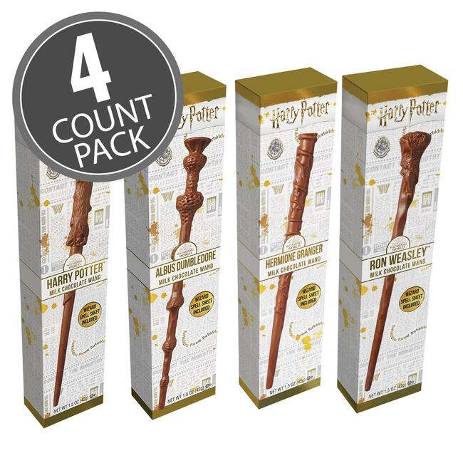 Harry Potter™ Chocolate Wand 4 Count Pack