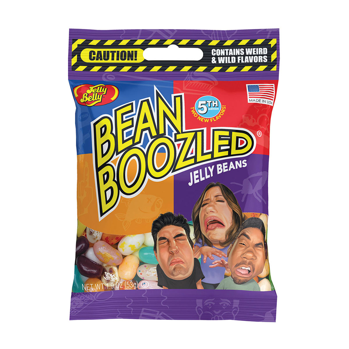 BeanBoozled Jelly Beans 1.9 oz bag (5th edition)
