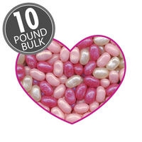 Jewel Collection Valentine Mix Jelly Beans Mix - 10 lb Bulk Case
