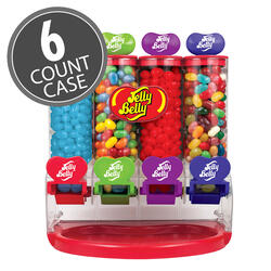 Jelly Belly My Favorites Jelly Beans Machine Dispenser, 6-Count Case