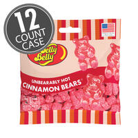 Unbearably HOT Cinnamon Bears 3 oz Grab & Go® Bag - 12 Count Case