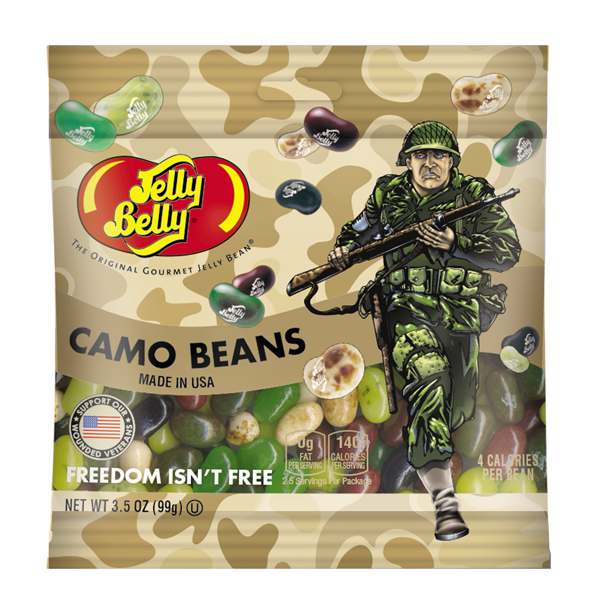 Freedom Fighters Jelly Beans - 3.5 oz Bag