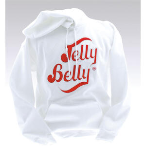 Jelly Belly White Hooded Sweatshirt – Adult XXL