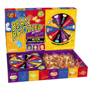 BeanBoozled Jumbo Spinner Jelly Bean Gift Box - 12.6 oz Box (4th edition)
