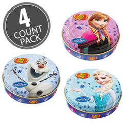 Disney© FROZEN Jelly Beans Tin - 1 oz Tin - 4 Count Pack