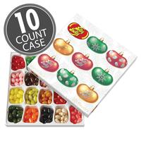 Jelly Belly 20-Flavor Christmas Gift Box 10-Count Case