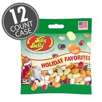 Holiday Favorites Jelly Bean 3.5 oz Gift Bag - 12 Count Case