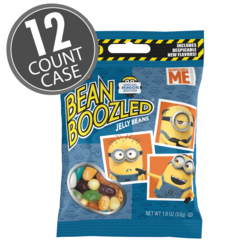 BeanBoozled Minion Edition 1.9 oz Grab & Go Bag, 12-Count Case