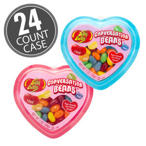 Jelly Belly Conversation Beans Hearts Mix 1 oz, 24-Count Case